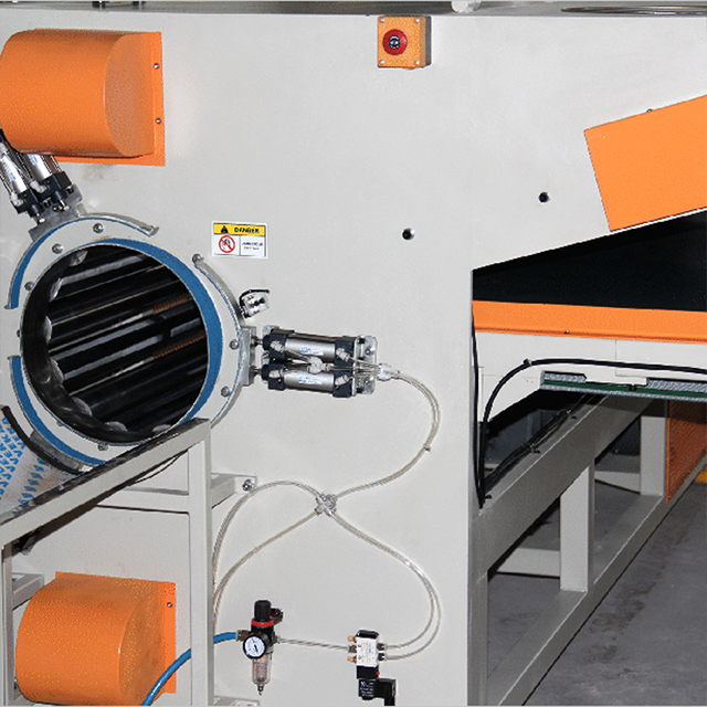 XB-9W Automatic Mattress Roll-Packing Machine