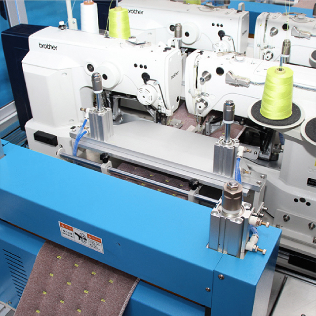 XDB-2B4A Automatic Border Side Stitching Production Line